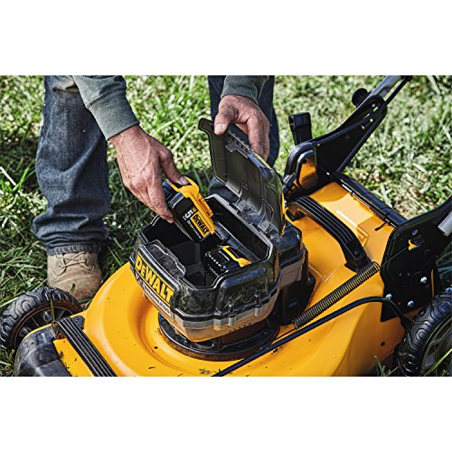 DEWALT 20V MAX Lawn Mower, 3-in-1, 2 Batteries (DCMW220P2)