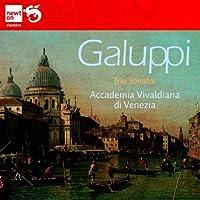 ガルッピ:2台のヴァイオリンと通奏低音のためのトリオ・ソナタ集
