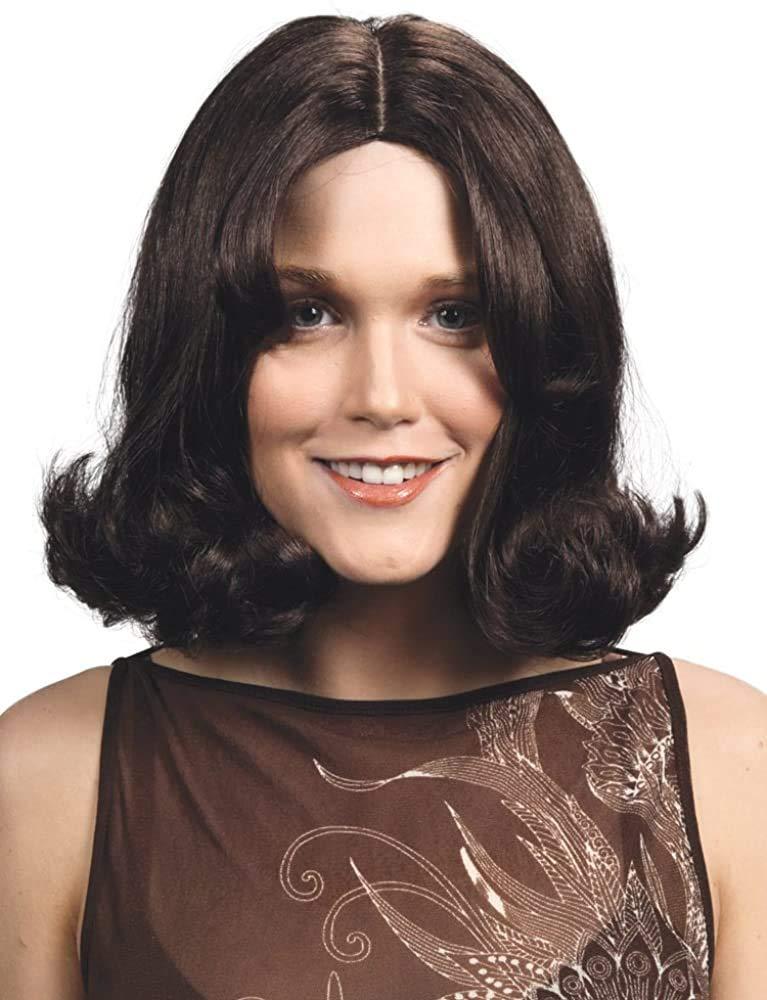 Miami Mall Kate Jackson Color Black - Enigma Angel Dun Wigs Charlie Sabrina Long Beach Mall