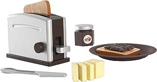 Kidkraft Toaster Set, Espresso - 3 Years & Above