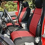 Rugged Ridge 13297.53 Black Seat Cover Kit, 2 Pack...