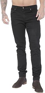 Bowie Mens Stretch Black Jeans 5 Pocket Western-Zeus Black 28-44