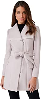 Ever New Womens Elana Funnel Neck Coat
