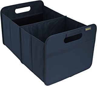 (Marine Blue) - meori Classic Large Foldable Box, Marine Blue, Collapsible Box To Organise, Store and Carry Anything and E...