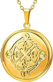 Best vintage gold cross pendant Reviews