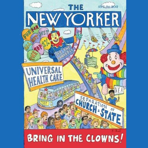The New Yorker, September 24, 2012 (Jill Lepore, Malcolm Gladwell, Gay Talese) cover art