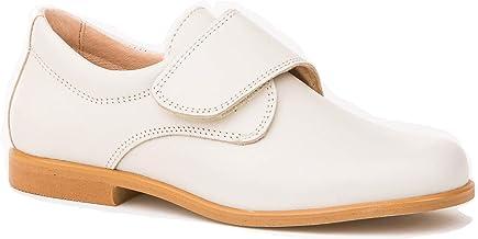 Zapatos de niño para Ceremonia. Zapato Fabricado en Piel y Hecho en España - Mi Pequeña Modelo 1810 Color Beige.