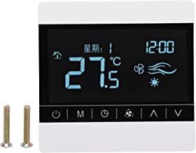 Termostato AC220V Con Controlador De Temperatura De Estufa Colgante De Pared Con Pantalla Táctil Para Calefacción De Agua, Calefacción Por Suelo Radiante
