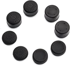 Pandaren Pack of 8 pcs Thumb Grip Thumbstick for PS2, PS3, PS4, Xbox 360, Wii U Controller (not for Xbox One Controller)