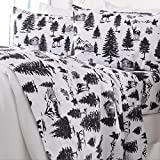 Best Flannel Sheets - Great Bay Home - 100% Turkish Cotton Queen Review