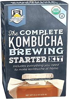 The Complete Kombucha Brewing Starter Kit | Fermentaholics USDA Certified Organic Kit (The Complete Kombucha Brewing Starter Kit)
