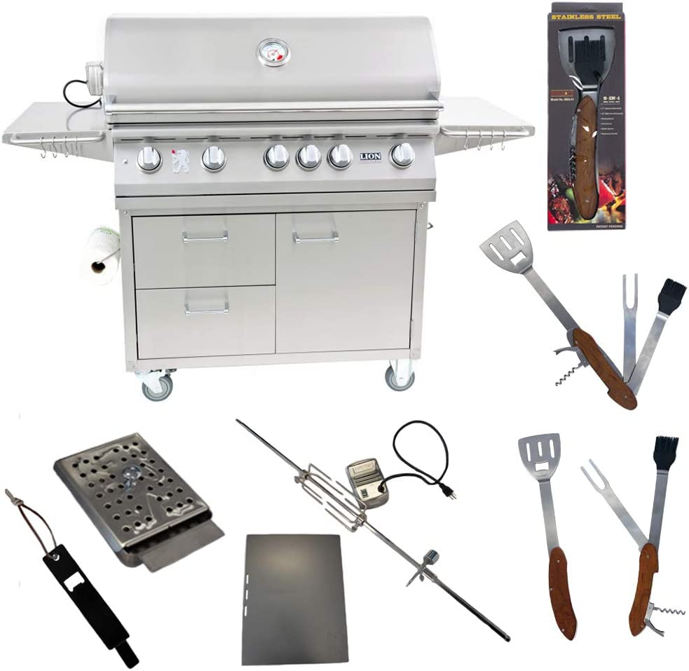 Lion Premium Grills Sale special price 40-Inch Natural Gas Cart wit Grill L90000 on Trust