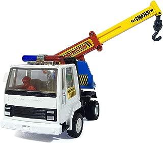 Amisha Gift Gallery centy Toys Ashok Leyland Functional Pull Back Action Crane Truck Toy - White