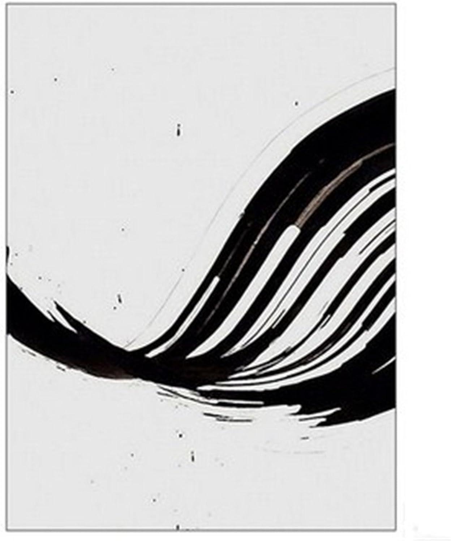 protección post-venta HONGLIEstilo nórdico de Creativo blancoo y Negro Pintura Pintura Pintura Decorativa Abstracta Sala de EEstrella Moderna Minimalista Hotel de Moda Mural de la Oficina Mural (40  60 cm), b  barato y de alta calidad