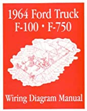 bishko automotive literature - Electrical Wiring Diagrams Schematic Manual for The 1964 Ford F-100 F-150 to F-750 Truck