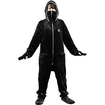 Bauhutte(バウヒュッテ) ゲーミング着る毛布 ダメ着4G ストレッチ生地 ブラック Lサイズ HFD-4G-L-BK