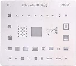 9Pcs/set Phone BGA Reballing Stencil Template for iPhone 6 6P 6S 6SP 7 7P 8 8P X CPU Font Wifi Audio Power NAND IC Soldering Repair Plant Tin steel net