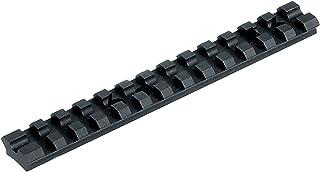 UTG Picatynny/Weaver Schiene Model 500 Shotgun Top Rail Mount - Mira de Arma para Caza, Color Negro