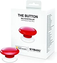 Fibaro The Button Rot pour Apple Homekit, Ausführung verschiedener Szenen, drahtlos