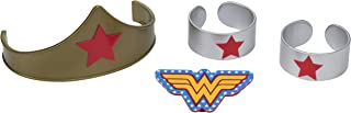 "DecoPac 7222, Wonder Woman Strength and Power Cake Toppers, 3"", count of 4"