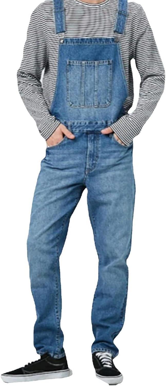 RJFYPX Over item handling ☆ Men's Denim Overalls Max 41% OFF Fashionable