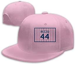 Men Women Anthony-Rizzo-Number #44 Baseball Cap Classic Adjustable Plain Hat Pink
