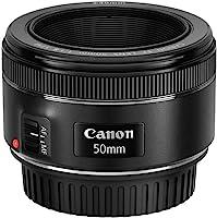 Canon EF 50mm f/1.8 STM Standard Lens,Black