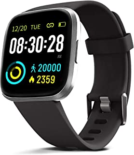 MorePro Smart Watch 10 Sport Modes IP69 Waterproof Fitness Tracker with Heart Rate Blood Pressure Monitor,Sleep Tracking Fitness Watch with Android iOS Calorie Step Counter Touch Screen for Women Men
