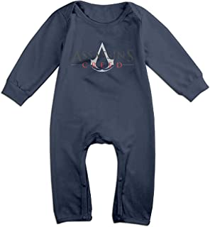Video Game Series Assassin's Creed Logo Baby Onesie Romper Jumpsuit Baby Clothes