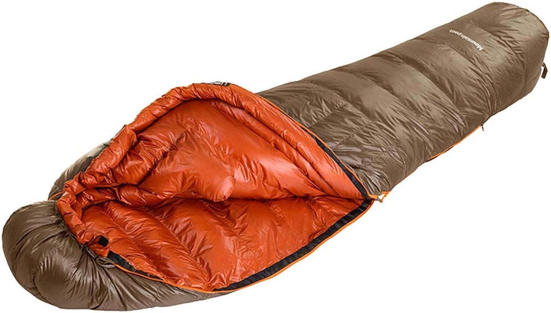 Sport & Freizeit Camping & Outdoor Schlafsäcke Schlafsack Gold -20 ° C Kalten Daunenschlafsack Winter Dicker Warmer Erwachsener Weiblicher Erwachsener Im Freien Schlafsack Wasserdichter Schlafsack B07MBQ3JGQ  Preiszugeständnisse