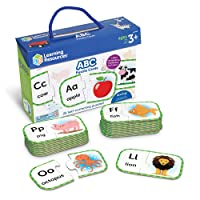 Deals on Learning Resources ABC Puzzle Cards, 26 Two-Piece Cards