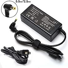 65W Adapter Charger for Toshiba Satellite C655 C55 C850 C50 L755 C855D L655 L745 P50 C55D S55 C55-a E55 L645d L755 P855 P875 S855, Toshiba Portege Z30 Z930 Z830, Satellite Radius 11 14 15 Power Cord