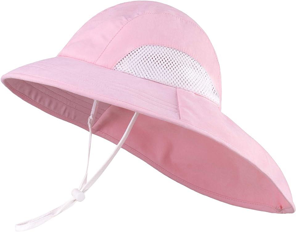 Baby Boy Sun Hat UPF 50+ Sun Protection Baby Boy Summer Hat Wide Brim Beach Hat Baby Toddler Sun Hat