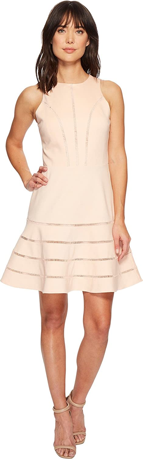 Adelyn Rae Womens Peggy Knit Fit & Flare Dress