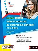 Livres Concours Adjoint territorial du patrimoine de 2ème classe - Ecrit + Oral - Catégorie C - Concours 2019-2020 PDF