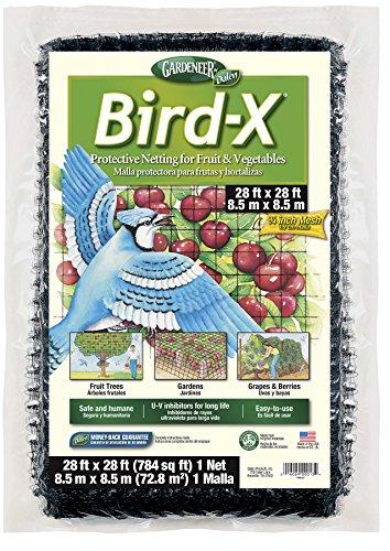 Dalen BN3 Gardeneer BirdX Protective Netting 28#039 x 28#039 1 Pack 100055857  Black