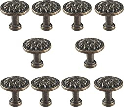 Retro antieke meubelknop - ladegrepen, antieke knop voor kast ladenkast kast deur - brons zinklegering - verpakking van 10