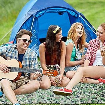 Nicoone Bâche de tente, imperméable et résistante aux UV, pour le camping