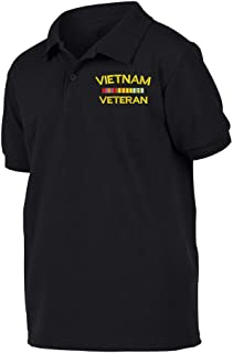 Military Vietnam Veteran Polo Shirt
