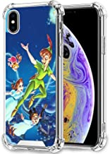 DISNEY COLLECTION Phone Case Compatible Apple iPhone Xs Max (2018) [6.5-Inch] Disney Peter Pan