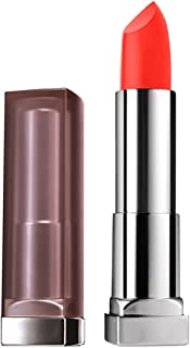 Maybelline New York Color Sensational Creamy Matte Lipstick, All Fired Up, 0.15 oz.