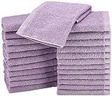 AmazonBasics Waschlappen aus Baumwolle, 24er-Pack-...