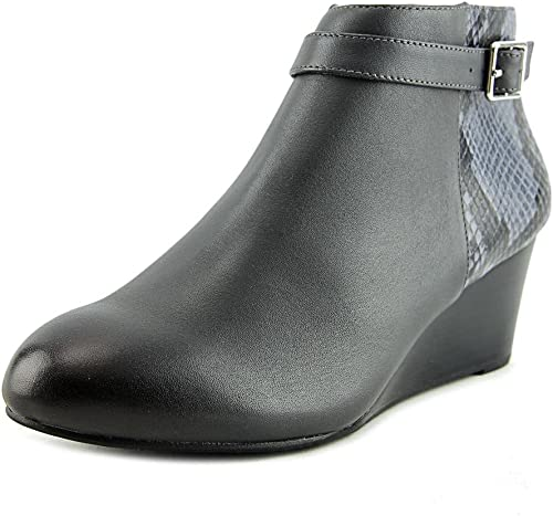 Vionic damen& 039;s Elevated Shasta Wedge Stiefel grau Snake 7.5 M US