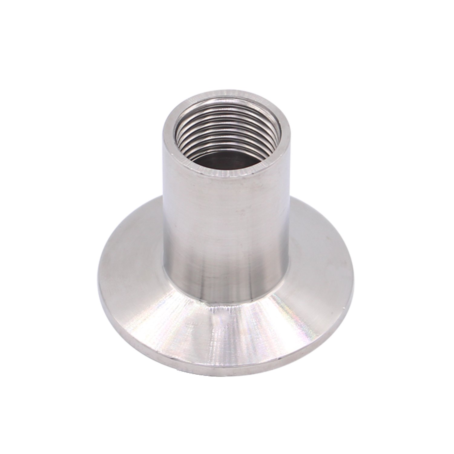 DERNORD Sanitary Fitting Reducer Fitting SUS304 Tri Clamp Ferrule Style 3 Tube OD to 1-1//2 Tube OD