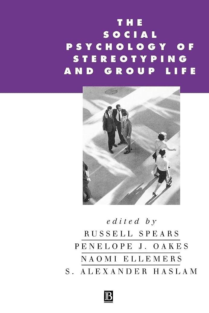 見込み慈悲退院The Social Psychology of Stereotyping and Group Life (Parallaz: Re-Visions of Culture and)