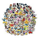 LZWNB Disney Mickey Adhesivo Anime Dibujos Animados Coche...