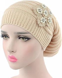 Fabal Women Chiffon Ruffle Cancer Chemo Hat Beanie Scarf Turban Head Wrap  Cap afd20bf24386