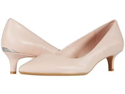Calvin Klein Gabrianna Pump (Sheer Satin) Women