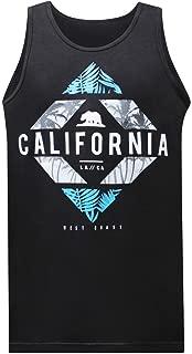 California Republic CA West Coast Men's Muscle Tee Tank Top