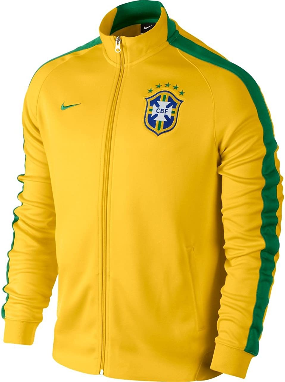 Nike Men's N98 Regular store Brazil Authentic Ranking TOP17 Jacket Track
